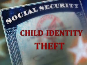 ID theft involving children